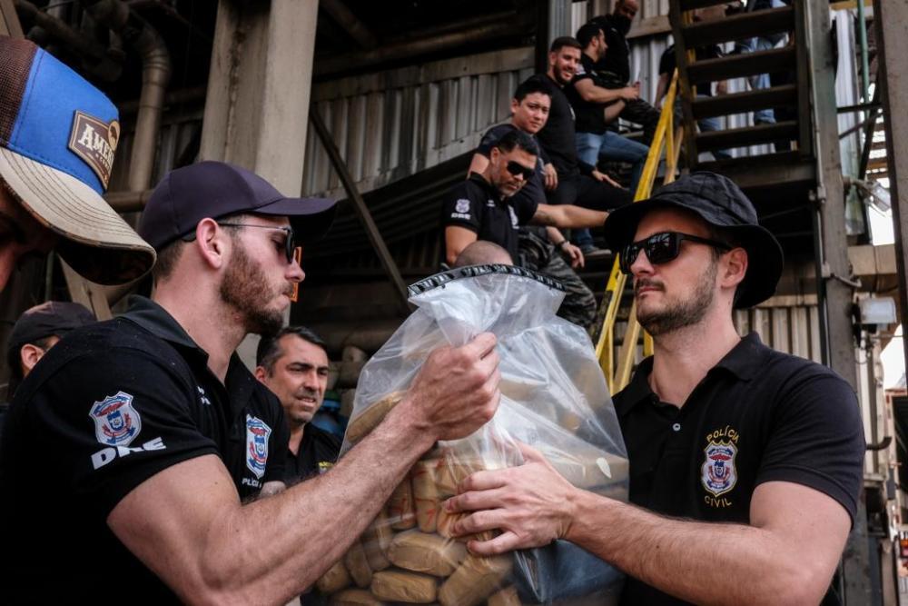 Incineração de drogas ilícitas - Foto por: Mayke Toscano / Secom-MT