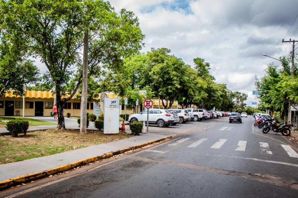 Sede do Detran-MT, em Cuiabá - Foto por: Christiano Antonucci