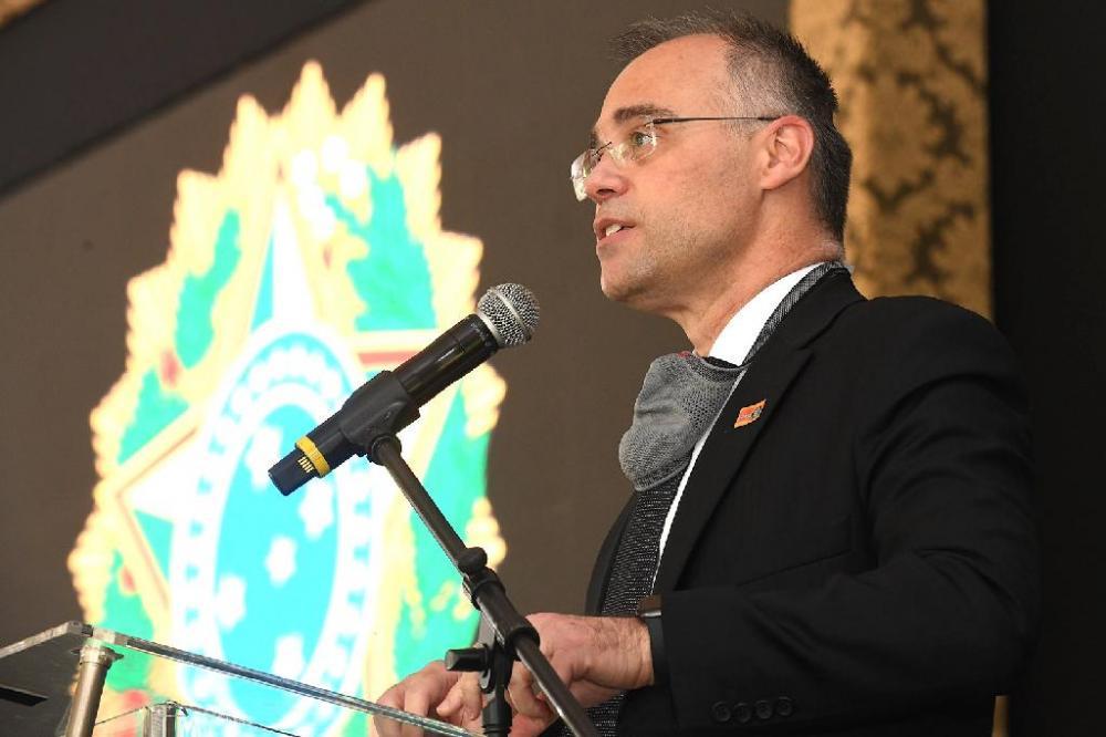 Ministro da Justiça e Segurança Pública, André Mendonça - Foto por: Isaac Amorim/MJSP