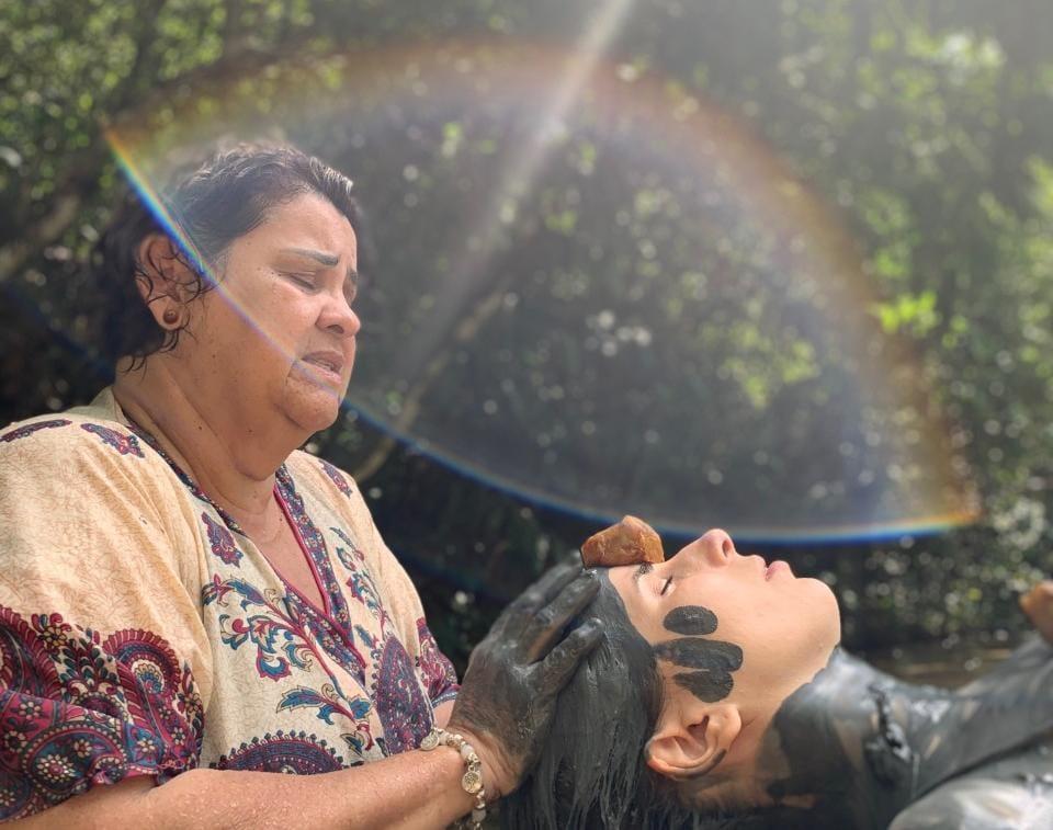 Terapias propõem integração do indivíduo com a natureza. Foto por: Fábio Motta