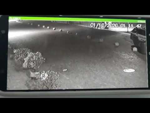 Câmeras de segurança flagram momento exato em que PM atira em Jonathan